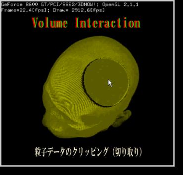Volume Interaction